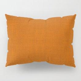 """""""Orange Burlap Texture Plane"""" Pillow Sham"""