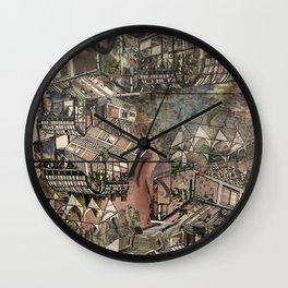 Supermist Wall Clock