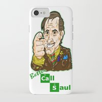 better call saul iPhone & iPod Cases featuring Better Call Saul...  Attorney Saul Goodman from Breaking Bad  by beetoons