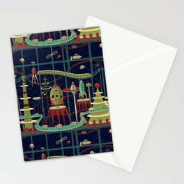 Fantastic Launch Station Stationery Cards