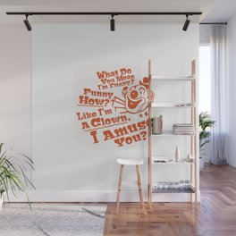 Funny Like A Clown Goodfellas Mobster Godfather Wall Mural