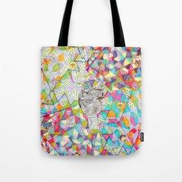 Pattern x Dog  Tote Bag