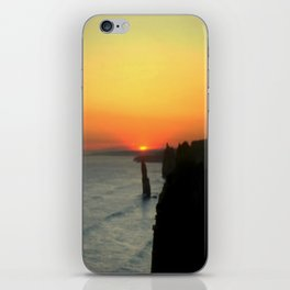 Sunsetting over the Great Southern Ocean iPhone Skin
