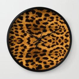 Baesic Leopard Print Wall Clock