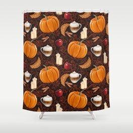 Rustic Fall Shower Curtain