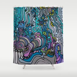 THE AFTERPARTY Shower Curtain