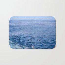 She Fell in Love on the Vast Wild Sea Bath Mat