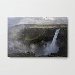 Haifoss - Iceland Metal Print