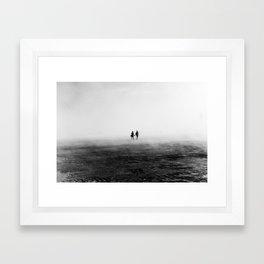 Everyone Else Disappears Framed Art Print
