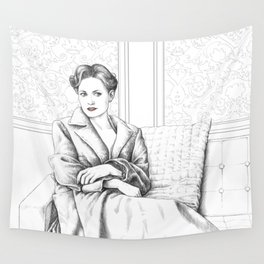 The Woman Wall Tapestry