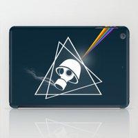floyd iPad Cases featuring pink Floyd  by mark ashkenazi