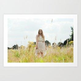 Fields of Gold II Art Print