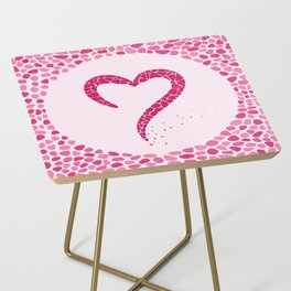 AFE Mosaic Heart Side Table