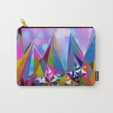 Festive colorful crystals Carry-All Pouch