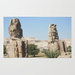 The Clossi of memnon at Luxor, Egypt, 1 Rug