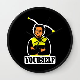 BEE YOURSELF  |  JOHN BELUSHI Wall Clock