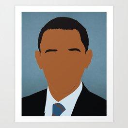 Barack Obama Avatar Art Print