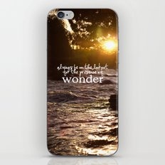 presence of wonder. iPhone & iPod Skin