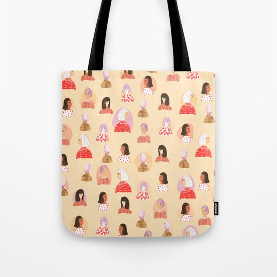 Tell Me Something Lovely Tote Bag
