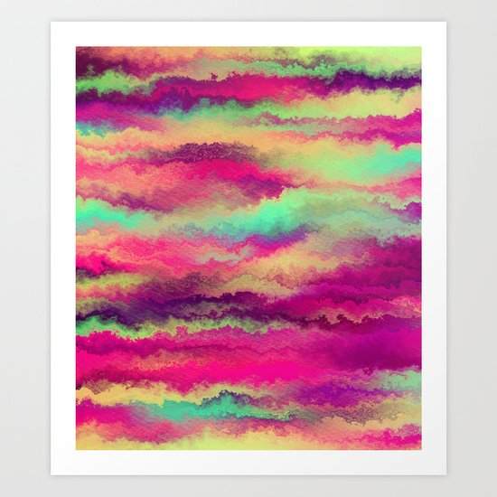 Painted Rainbows 6 Art Print