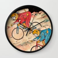 lunar Wall Clocks featuring Lunar Keirin by Juan Weiss