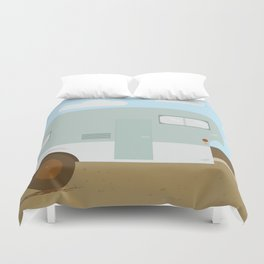 Forget and Not Slow Down Duvet Cover