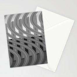 Crazy greylines 4 Stationery Cards