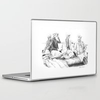 women Laptop & iPad Skins featuring Women by Alessia Pelonzi