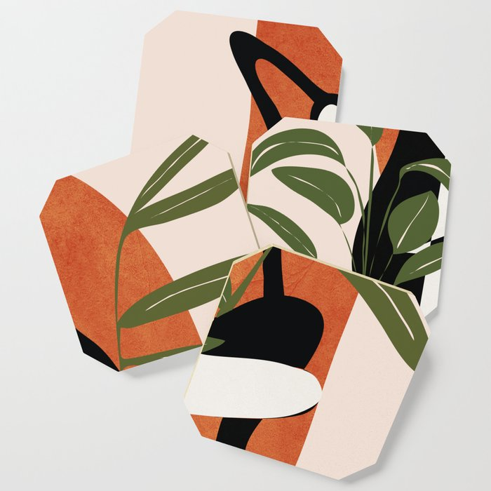 Abstract Female Figure 20 Coaster