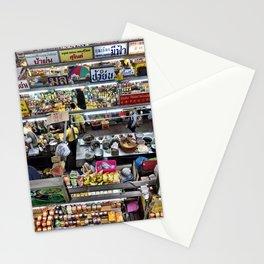 Warorot Market, Chiang Mai, Thailand Stationery Cards