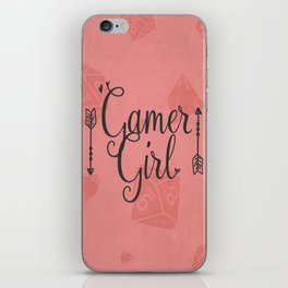 Gamer Girl iPhone Skin