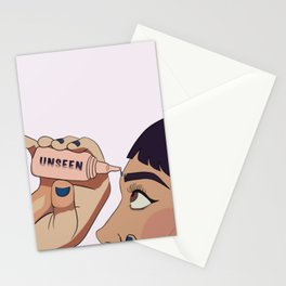 Unseen eye drops Stationery Cards