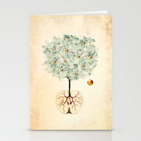 tree of life Stationery Cards featuring Life Tree by Paula Belle Flores