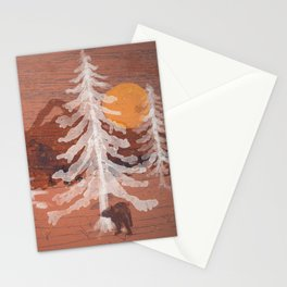 Bear's Solitude... Stationery Cards