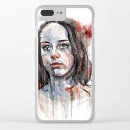 Abigail Hobbs Clear iPhone Case