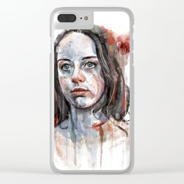 Abigail Hobbs Clear iPhone Case