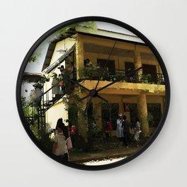 The School House Wall Clock