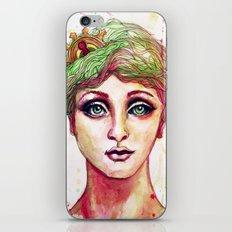 Steampunk Girl iPhone & iPod Skin