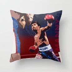 Manny Pacquiao aka Kamao Ng Bayan Throw Pillow