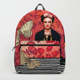 Frida enamorada Backpack