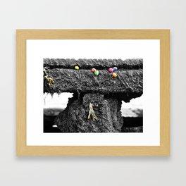 Periwinkles Framed Art Print
