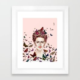 Frida Kahlo - Mexico Framed Art Print