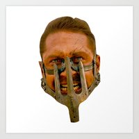 mad max Art Prints featuring Mad Max by Sten