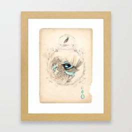Handle with care Framed Art Print