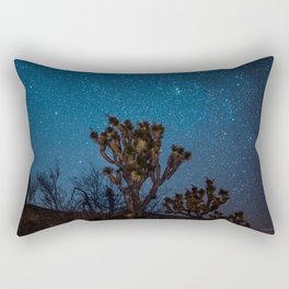 Midnight Stars at Joshua Tree Rectangular Pillow