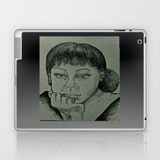 Adele Sketch Laptop & iPad Skin