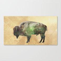 Surreal Buffalo Canvas Print