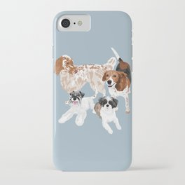 Barclay, Rhett, Ozzie and Gus iPhone Case