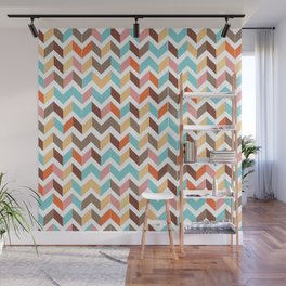 earthly chevron Wall Mural