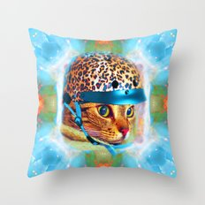 Safety First!-Lady Jasmine Throw Pillow